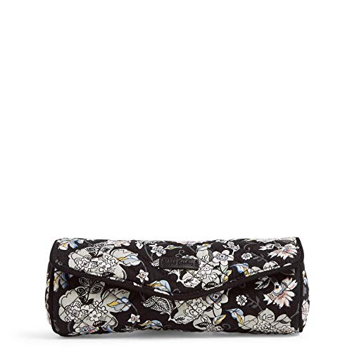 Vera Bradley Women#039s Signature Cotton On a Roll Cosmetic Case Holland Garden One Size