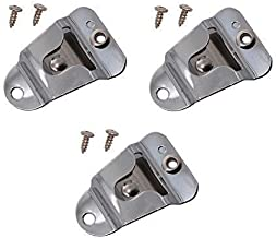 Microphone Clip Holder HLN9073 Fits for CB Motorola Kenwood Radio CM200 GM300 CDM1250 CDM750 M1225 XPR4350 XPR4550 SM50 TM-281A TM-481A Walkie Talkie with Screws 3Pack