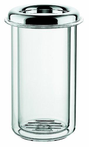 Guzzini Look P.Ta Bottiglia Termico Ø15 x H 23 cm, Cromato