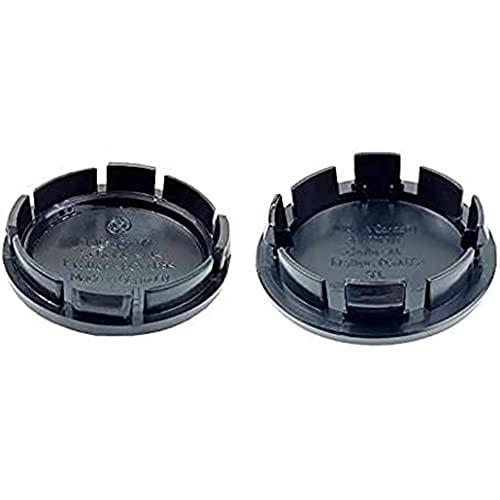 4 Piezas Compatible con Vw Jetta MK5 Golf Passat (3B7601171 1J0601171) 56mm 65mm Coche Rines Centrales Tapas Cubo Rueda Buje, Wheel Center Rim Hub Caps Resistente Polvo Agua Estilo Accesorios