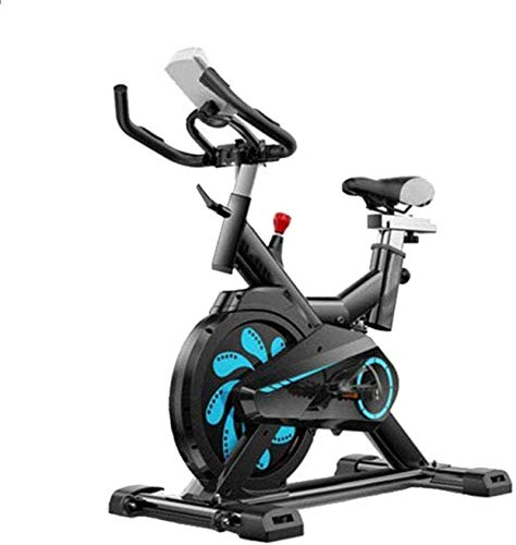 Bicicleta Estática Asiento Ajustable con Resistencia Magnética Ejercicio Cardiovascular En Casa mwsoz
