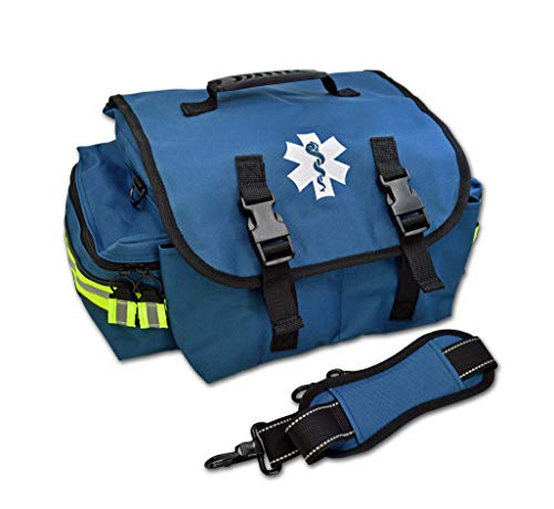 Lightning X Small EMT First Responder Bag w/Dividers - Navy Blue