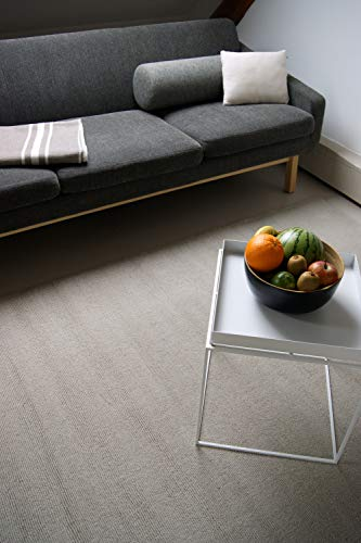 Tappeto Moderno di Lana Loft Natural beige 200x290cm - 100% pura lana vergine in colori luminosi e moderni