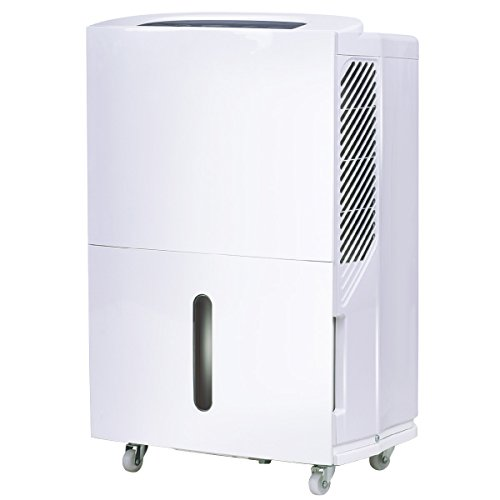 COSTWAY Portable Energy Star Dehumidifier for Basement or Large Room Electric Dehumidifier Machine Safe Humidity Control Timer...