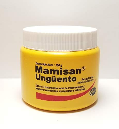 2 Pack Mamisan Ungüento (100g/3.5oz) Orginal by Pfizer (Hits, Wounds, inflamation, Arthritis)