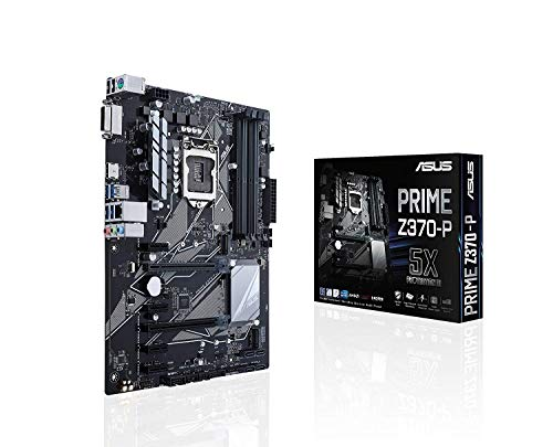 ASUS PRIME Z370-P LGA1151 DDR4 HDMI DVI M.2 Z370 ATX Motherboard with USB 3.1 for 8th Generation...