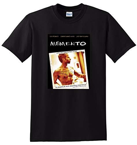 Memento T Shirt Bluray DVD Movie Poster Tee SMALL MEDIUM Large or XXXL Print T Shirt Summer Short The New