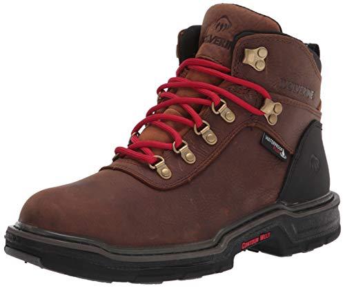 Wolverine Men's Trail Flex Outdoor Boot Hiking, Dark Brown, 14 M US