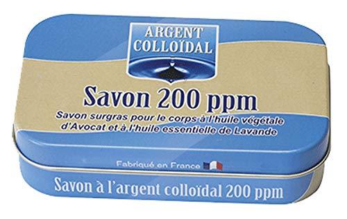 Savon Argent colloidal 200 ppm 100 gr