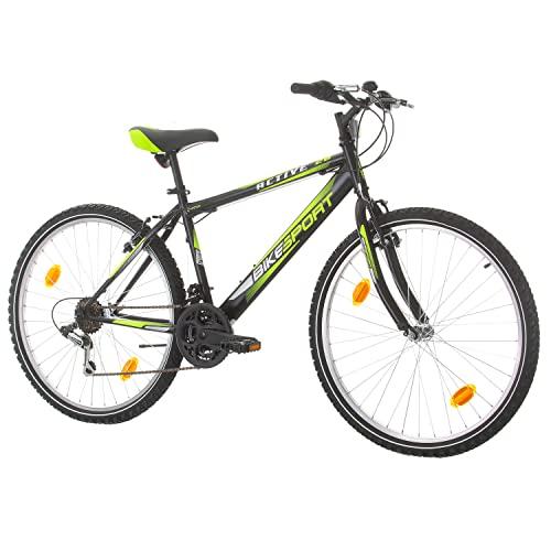 Bikesport Active Bicicletta Mountain Bike Uomo 26' Shimano 18 cambios