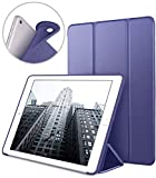 Funda para Nuevo iPad 9.7' 2018/2017, VAGHVEO Cubierta Estuche Plegable [Auto-Sueño/Estela] Carcasa TPU Suave Smart Cover para Apple iPad 5ª / 6ª Generacion (A1893/A1954/ A1822 / A1823), Azul Marino