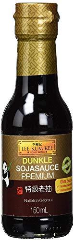 Lee Kum Kee Soja-Sauce dunkel (aus China, natürlich gebraut, ohne Geschmacksverstärker, würzig), 1er Pack (1 x 150ml)