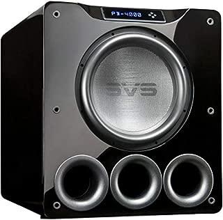 SVS Ported Box Bluetooth Subwoofer - Piano Gloss Black - PB 4000
