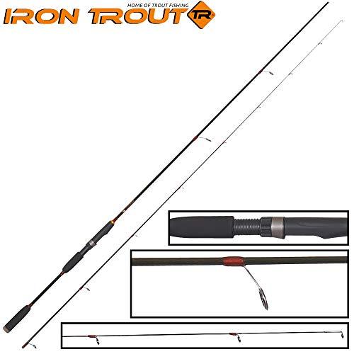 Saeger Unisex– Erwachsene 10C4039507166427C10 Iron Trout Chakka 2,70m 1-6g Rute - Spoonrute, Spinnrute zum Forellenangeln, Ultra Light Forellenrute, Bunt, Normal