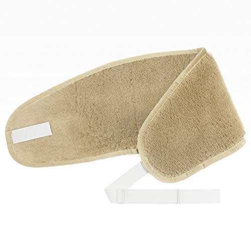 Nierenwärmer Lama SOFT (mit Gummiband) Rückenwärmer 100% Merino Wolle Back kidney warmer Nierengürtel Wärmegürtel