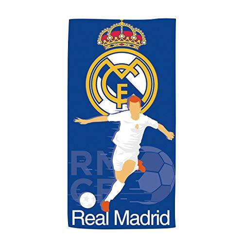 ARDITEX RM13739 Toalla de Microfibra de 70x140cm de Clubs-Real Madrid CF