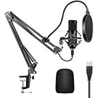 Neewer NW-8000 USB Condenser Microphone Kit with Pop Filter & Mount