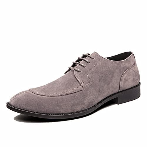 Zapatos de Vestir de Negocios para Hombres Ligeros Antideslizantes de Corte bajo...