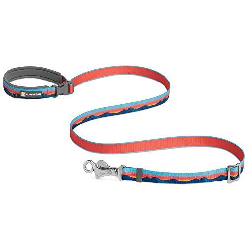 Ruffwear Crag Hundeleine, Kann in der Hand Gehalten oder um die Hüfte Getragen Werden, Reflektierende und Verstellbare Leine, Sonnenuntergang