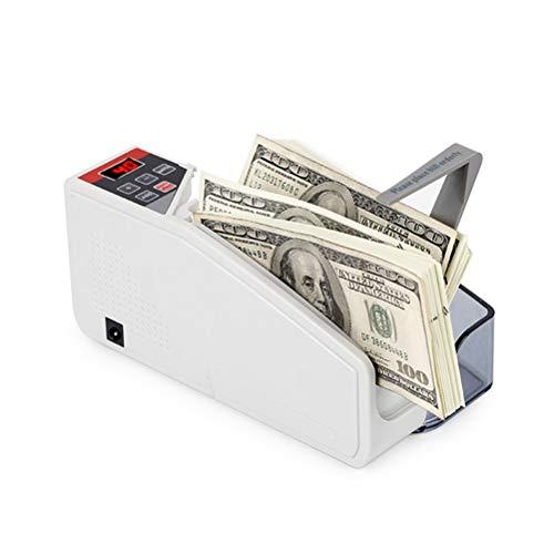 Mini Bill Portable Práctico Efectivo Contador De Billetes Moneda Del Dinero Máquina De Contar CA O Alimentado Por Batería