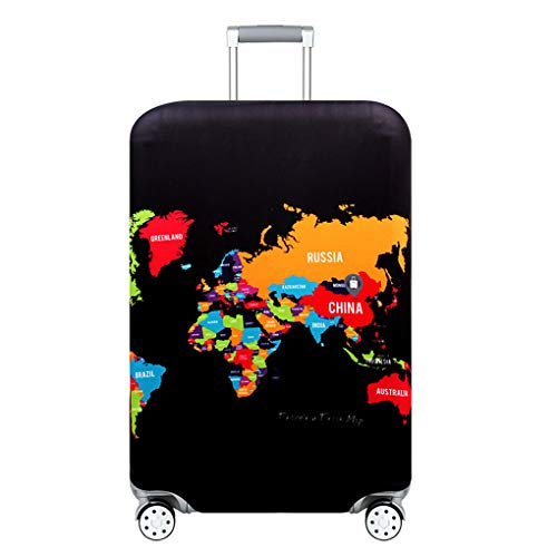 Weilifang Travel Suitcase Dust Cover High Elastic Luggage Protector Suitcase cover Suitcase dustproof Thick Protective Case Dustproof Bag