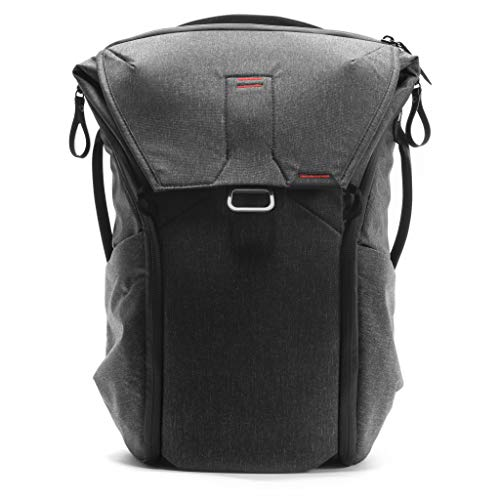 Peak Design Everyday Backpack 20L (Charcoal, Expandable 12-20L)