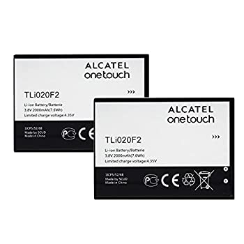 Replacement OEM Battery for Alcatel One Touch Fierce 2 D7040 TLI020F2-2 Pieces