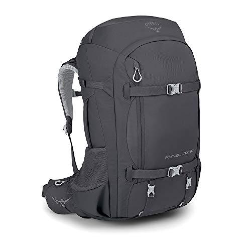 Osprey Fairview Trek 50 Reisetasche für Frauen - Charcoal Grey O/S
