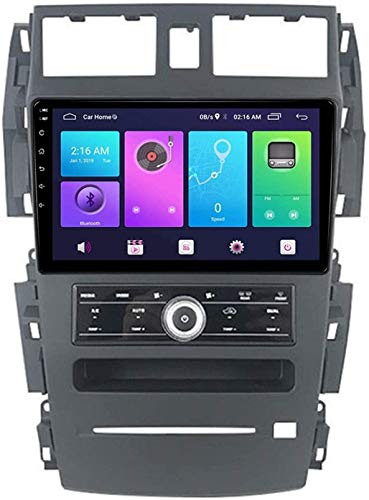 Coche Estéreo GPS Navegación Compatible Con TEANA 2003-2007 Auto Audio Player Android 10.0 Unidad De Cabeza SAT NAV MP5 Player FM Radio Receptor SWC 9 Pulgadas Pantalla Táctil,4 core 4G+WiFi 2+32GB