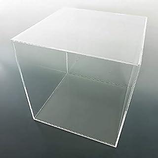 【平台座 透明】 UVカット透明アクリルケース W450mm H450mm D450mm