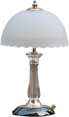 Wjvnbah Lámparas de Escritorio Bombilla de la lámpara Blanca de Mesa, Trofeo Modelado de la lámpara de LED/Bombilla Simple Moderna Escritorio Titular de la lámpara de Tabla de Estilos de la lámpara: