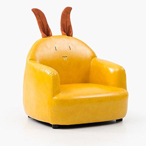 LRW Sofá de los niños Niña Princesa Oso de Conejo Silla de bebé Lazy Sofa Chair Cute Cartoon Pequeño sofá (Color : Rabbit)