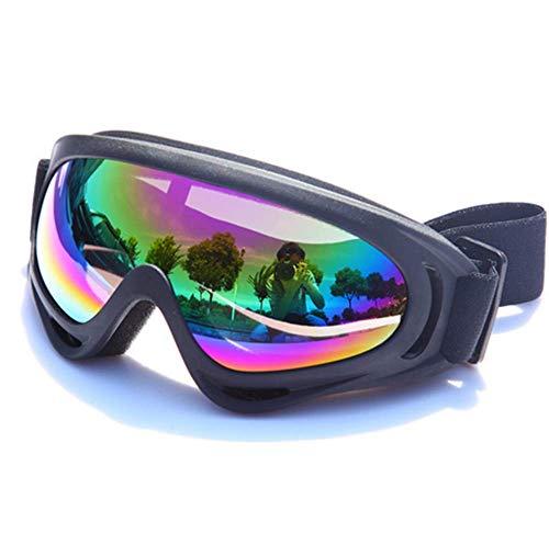 WFFH Gafas De Ciclismo, Snowboard Gafas De Esquí, Skate Moto Gafas De...