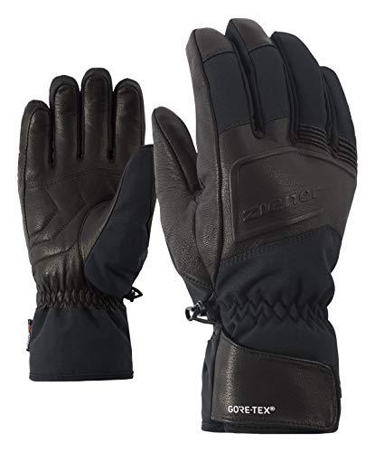 Ziener Herren GANTI GTX(R) + Gore warm AW ski Alpine Handschuhe, Black, 9