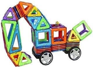 مكعبات بناء مغناطيسية للاطفال 119 قطعة، العاب تعليمية، اصنعها بنفسك SZ1006