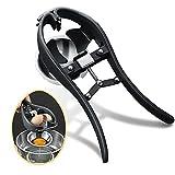 Traumlife Egg Cracker Egg Separator Tool, Handheld Egg Opener with Egg Yolk White Separator Food...