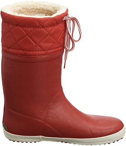 Aigle Giboulee Gummistiefel, Unisex-Kinder Gummistiefel, Rot (rouge / blanc 8), 30 EU (11.5 UK)
