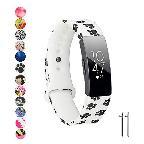 Baaletc Compatibel met Fitbit Inspire/Inspire HR/Ace 2 Band, Zachte Siliconen Band Vervanging Polsband vervanging voor Fitbit Inspire/Inspire HR/Fitbit Ace 2 Fitness Tracker