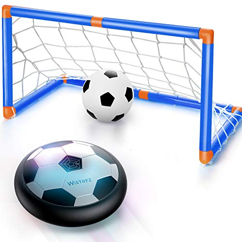 Our #6 Pick is the WisToyz Kids Toys Games Hover Soccer Ball Set