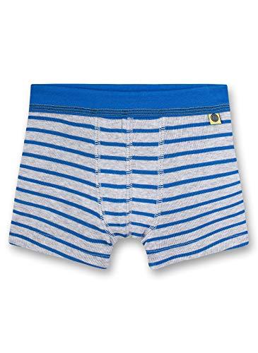 Sanetta Jungen Shorts Boxershorts, Grau (grau 1646), (Herstellergröße:128)