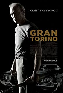 GRAN TORINO (2008) Original Authentic Movie Poster 27x40 - Dbl-Sided - Clint Eastwood