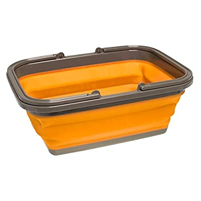 UST FlexWare Collapsible Sink with 2.25 Gal Wash Basin for Washing Dishes and Person During Camping, Hiking and Home