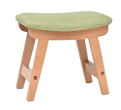 Preisvergleich Produktbild Hochwertiger Hocker aus Stoff,  modisches Sofa,  Schuhwechsel,  für Wohnzimmer,  kreativer Hocker,  für Erwachsene,  aus Massivholz