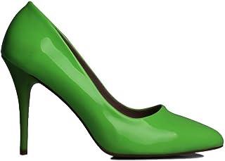 Loggalin 580115 676 Kadın Neon Yeşil Stiletto 44