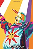 Notebook: Solaire In Pop Art Style , Journal for Writing, College Ruled Size 6' x 9', 110 Pages