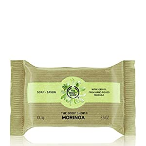 The Body Shop Moringa Soap, 3.5 Ounces (Packaging May Vary)