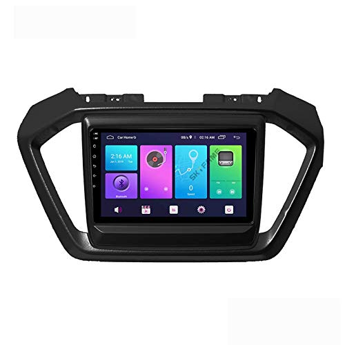 Android 10.0 Car Stereo Unidad principal de doble Din compatible con Isuzu D-Max 2019-2020 Navegación GPS Pantalla táctil de 9 pulgadas Reproductor multimedia MP5 Receptor de video y radio con 4G DSP