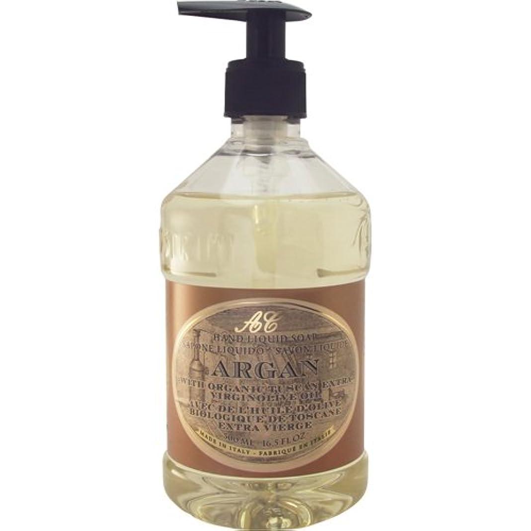 牛肉根絶するダイヤモンドSaponerire Fissi レトロシリーズ Liquid Soap リキッドソープ 500ml Argan アルガンオイル