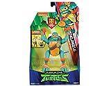 The Rise of The Teenage Mutant Ninja Turtles - Figuras de acción de Ataque Ninja de Lujo - Miguel Ángel emergente