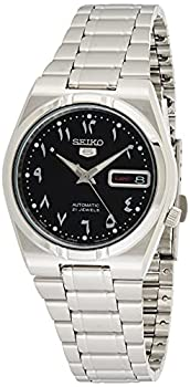 Seiko 5 Automatic Black Dial Stainless Steel Men s Watch SNK063J5